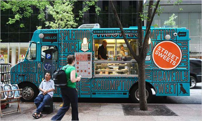 40 most creative food trucks 1 design per day. Black Bedroom Furniture Sets. Home Design Ideas